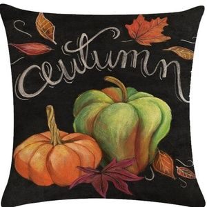 Pillow Cover- New- Fall Thanksgiving Autumn